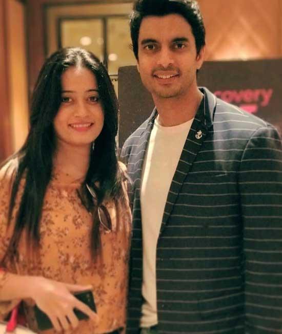 Gashmeer Mahajani With Wife
