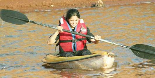 Gayatri Datar River Rafting at Koyna River