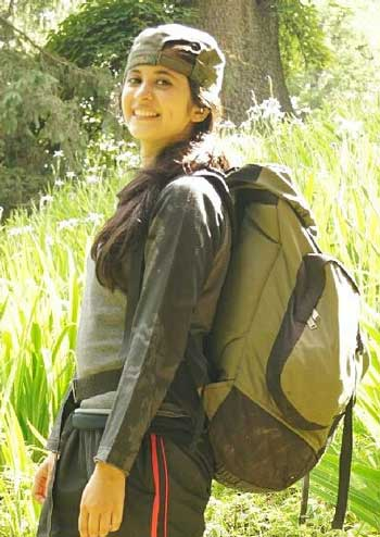 Gayatri Datar At Institute of Mountaineering