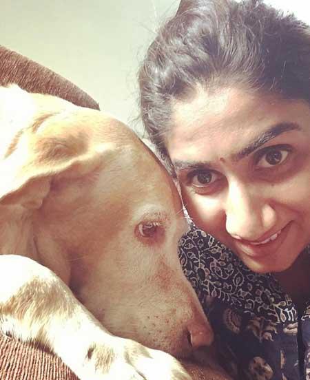 Nikita Vanjara With Pet