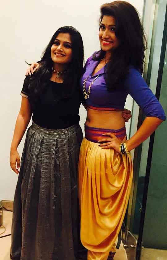 Rasika Sunil With Isha Keskar