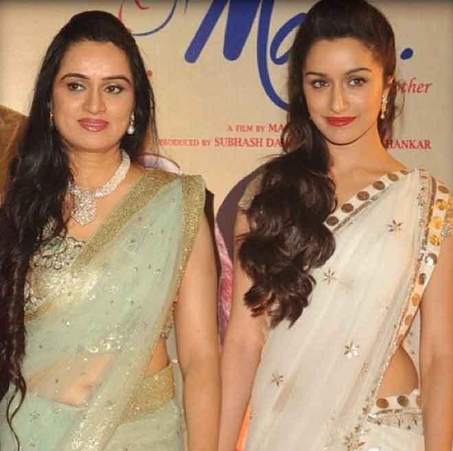Shivangi Kolhapure With Daughter Shraddha Kapoor