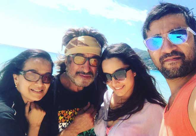 Shivangi Kolhapure With Family
