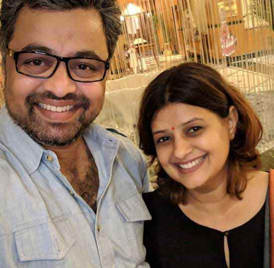 Subodh Bhave With Wife