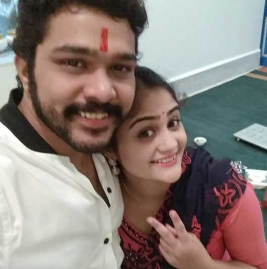 Suyash Tilak With Sister