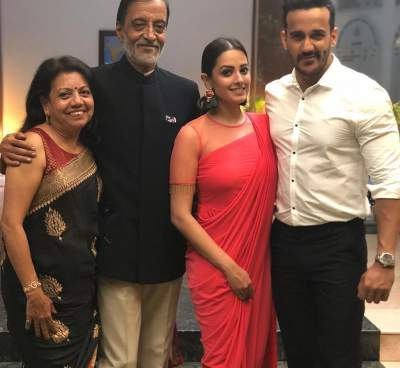 rohit reddy with family