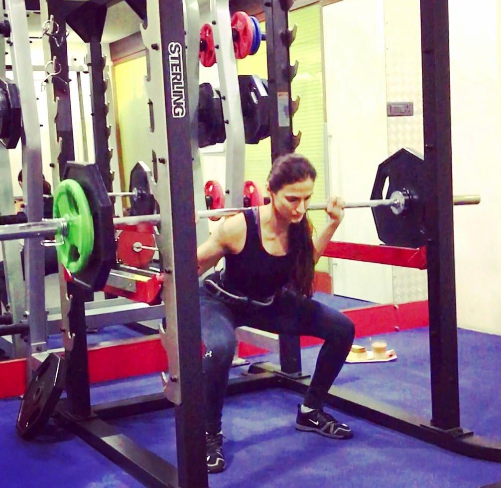 Shilpa Reddy in Jym