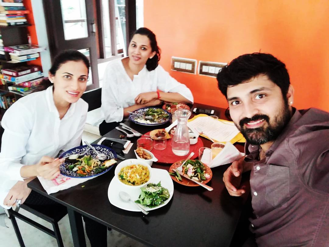 shilpa reddy with siblings