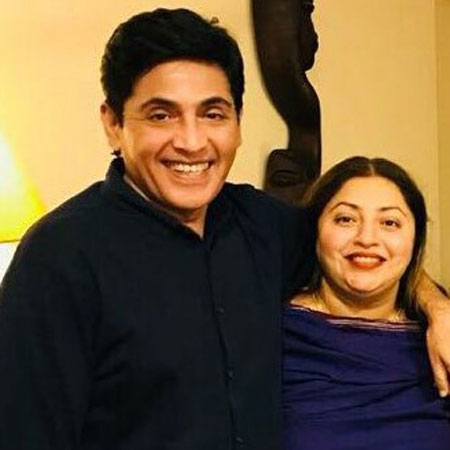 aasif sheikh with wife