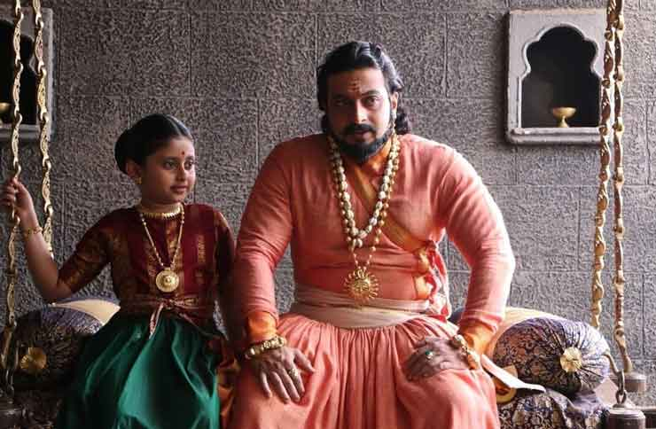 amol kolhe with daughter