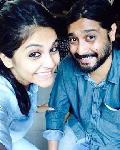 Megha Chakraborty With Brother