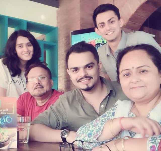 Pankhuri Awasthy With Family