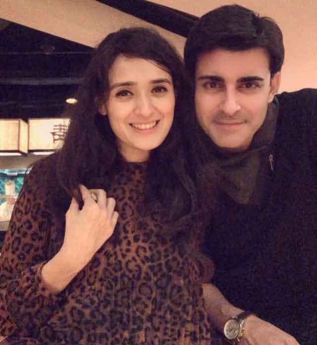 Pankhuri Awasthy With Husband Gautam Rode