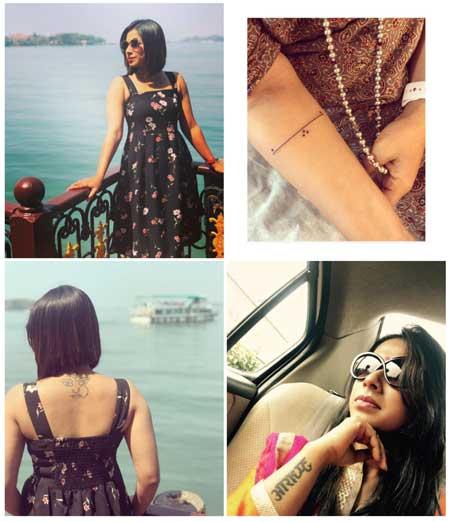 Shreya Bugde Tattoos
