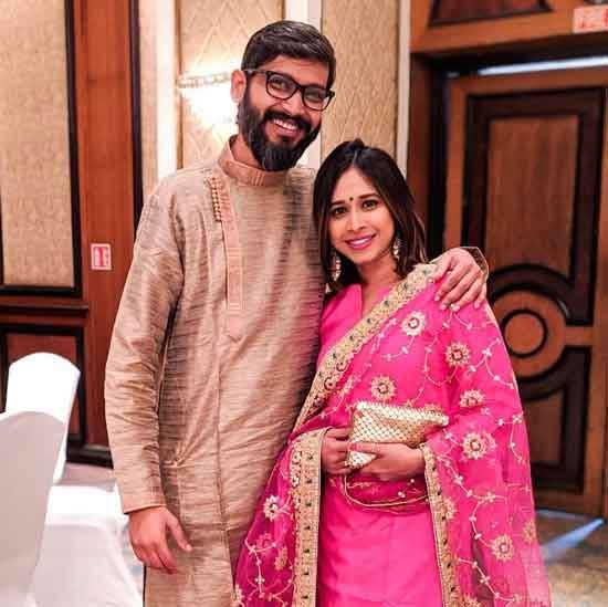 Shreya Bugde With Husband