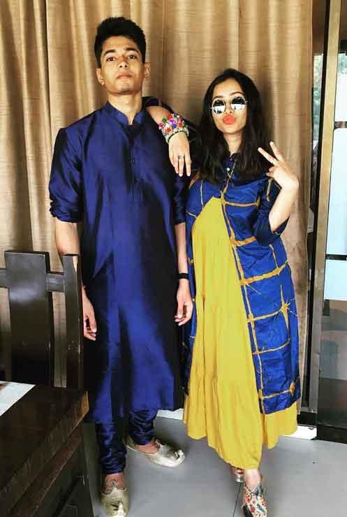 Shweta Basu Prasad With Brother