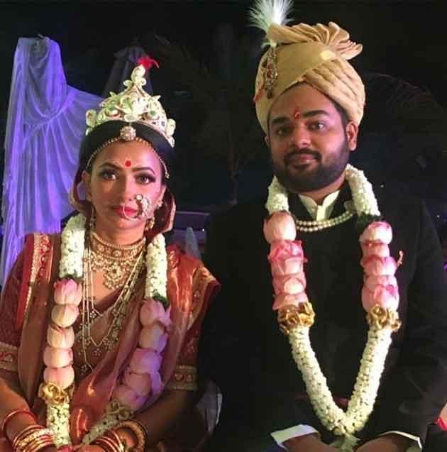 Shweta Basu Prasad With Husband