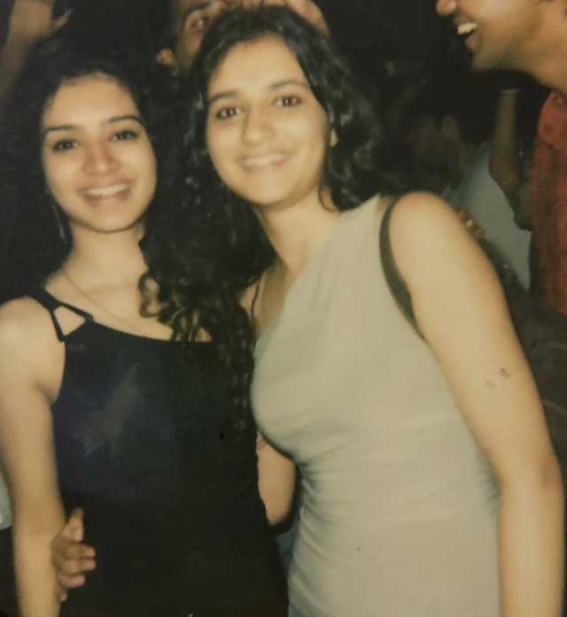 Sukirti Kandpal With Sister Bhavna Kandpal