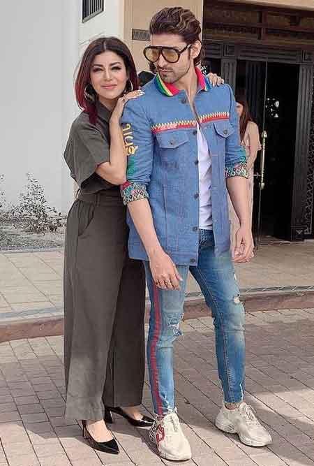 debina bonnerjee with husband gurmeet choudhary