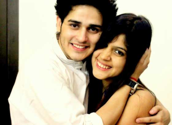 priyank sharma with sister