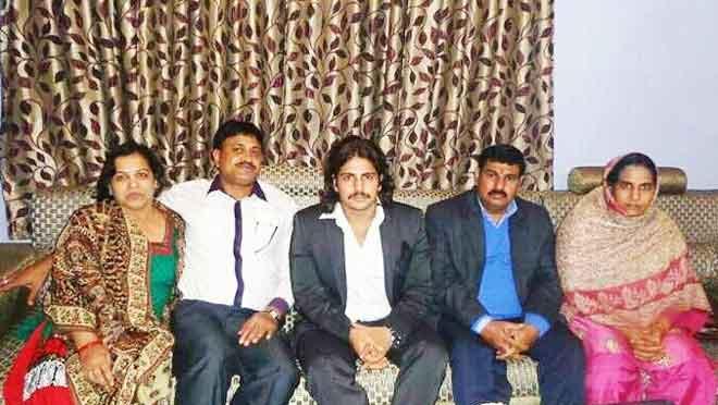 rajat tokas with family