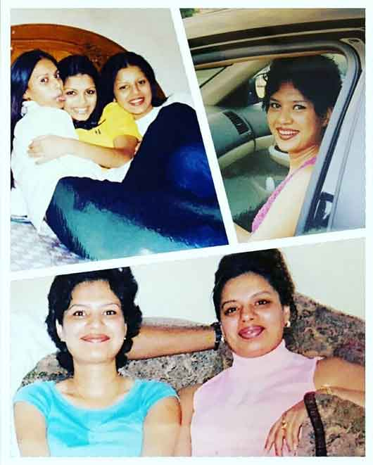 sonali raut with sisters