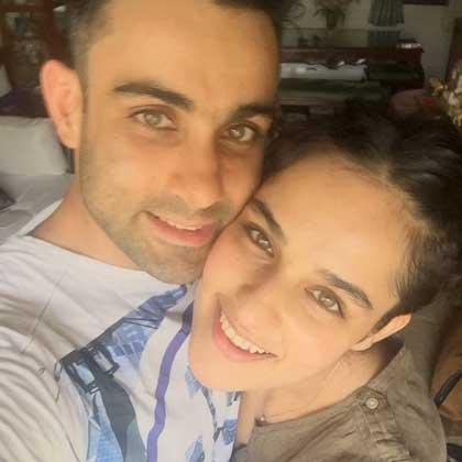 Angira Dhar With Brother Ishan Dhar