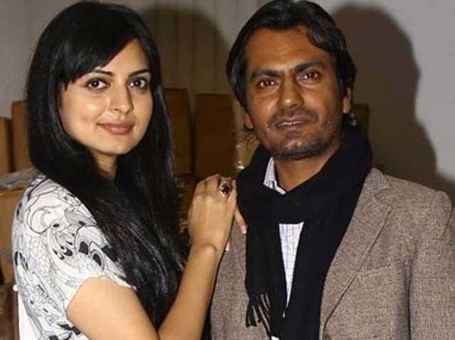 actress niharika singh with nawazuddin siddiqui