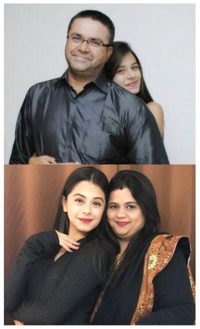 ritika badiani with family