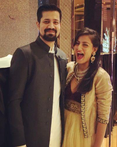 shruti vyas with brother sumeet vyas