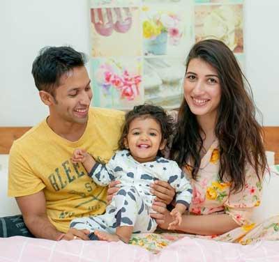 Avantika Mohan With Family