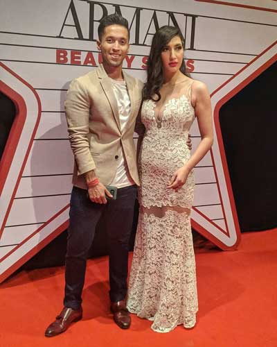 Avantika Mohan With Husband Durjoy Datta