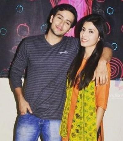 Harshita Gaur With Boyfriend Param Singh