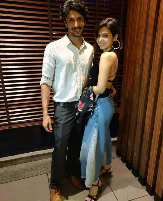 Shreya Gupto With Boyfriend Archak Chhabra