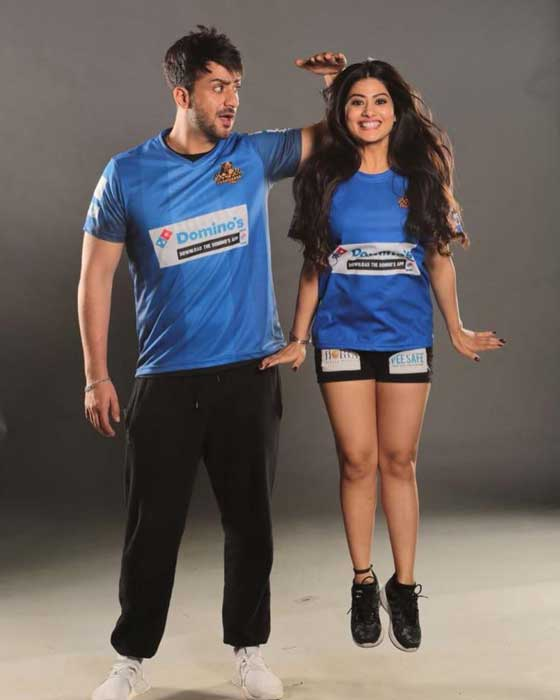 Krishna Mukherjee With Boyfriend Aly Goni